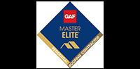 GAF Master Elite logo image