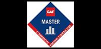 GAF Master logo image